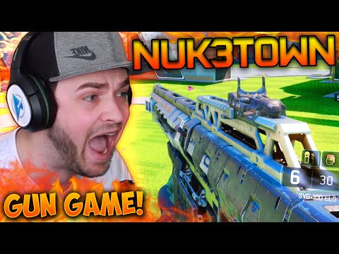 """NUKETOWN EXTRAVAGANZA!"" - Black Ops 3 GUN GAME! #8 - LIVE w/ Ali-A"
