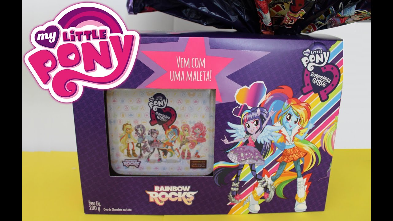 Ovo De Pscoa My Little Pony Equestria Girls Surprise