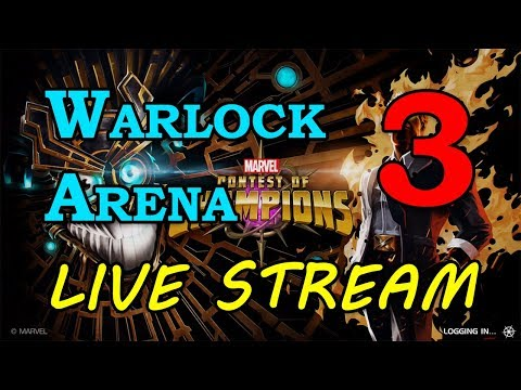 Warlock Arena - Round 2 - Part 3 | Marvel Contest of Champions Live Stream