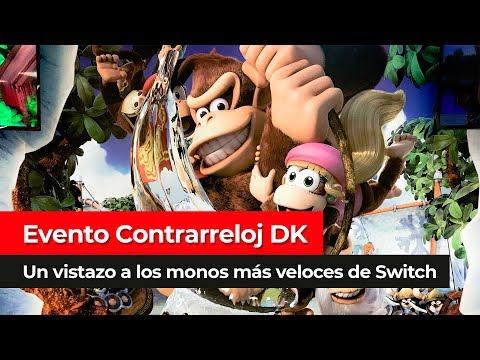 [Evento] Modo Contrarreloj de Donkey Kong Country: Tropical Freeze para Nintendo Switch