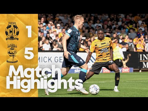 Cambridge Utd Lincoln Goals And Highlights