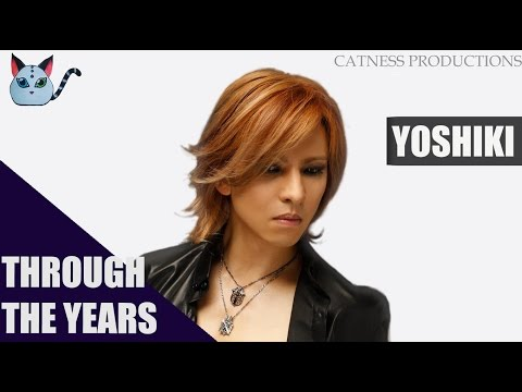 Through the years: Yoshiki (1985-2017) | Catness Productions