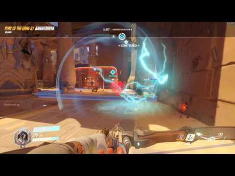 Somewhat Sneaky Hanzo PotG: Self-Sacrifice Lets My Team Fight Until Overtime