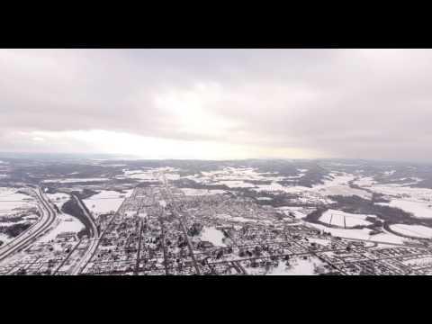 West Salem WI 4K at 500m (1,640.42ft)