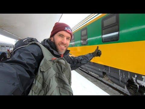 Winter Train Trip in Romania: Bucharest to Brasov
