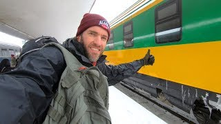 Winter Train Trip in Romania: Bucharest to Brasov
