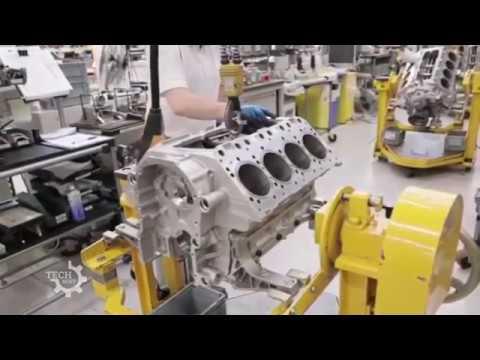 Manufactur of Bentley W12 engines