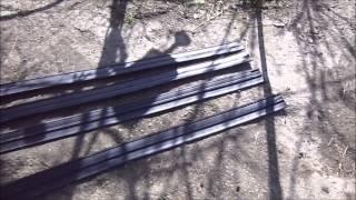 Нива универсальные расширители арок.(На Ниве обрезал арки, установил колёса большего диаметра, стало сильно кидать грязь, установил расширители..., 2015-04-01T07:51:08.000Z)
