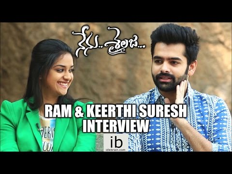 Ram & Keerthi Suresh Interview about Nenu Sailaja - idlebrain