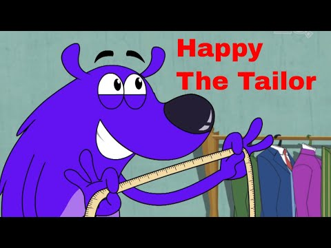 Pyaar Mohabbat Happy Lucky - Ep.11 | Happy The Tailor | Hindi Animated Cartoon Show | ZeeQ