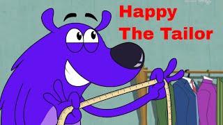Feliz El Sastre Ep - 11 - Pyaar Mohabbat Feliz Suerte Divertida, Hindi Serie De Dibujos Animados - Zee Niños