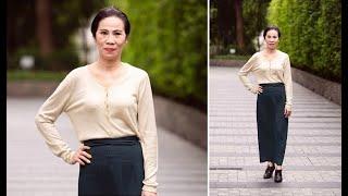 SÔ'C: Thí sinh 59 tuổi đến thi sơ khảo Hoa hậu Việt Nam 2020