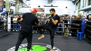 UFC on ESPN 6: Yair Rodriguez Open Workout Highlights - MMA Fighting