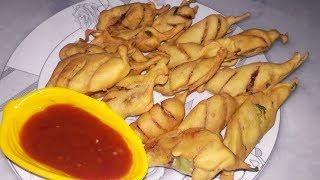 Crispy Mirch pakoda-Special Ramadan-Iftar Recipe-green chilli pakoda Recipe