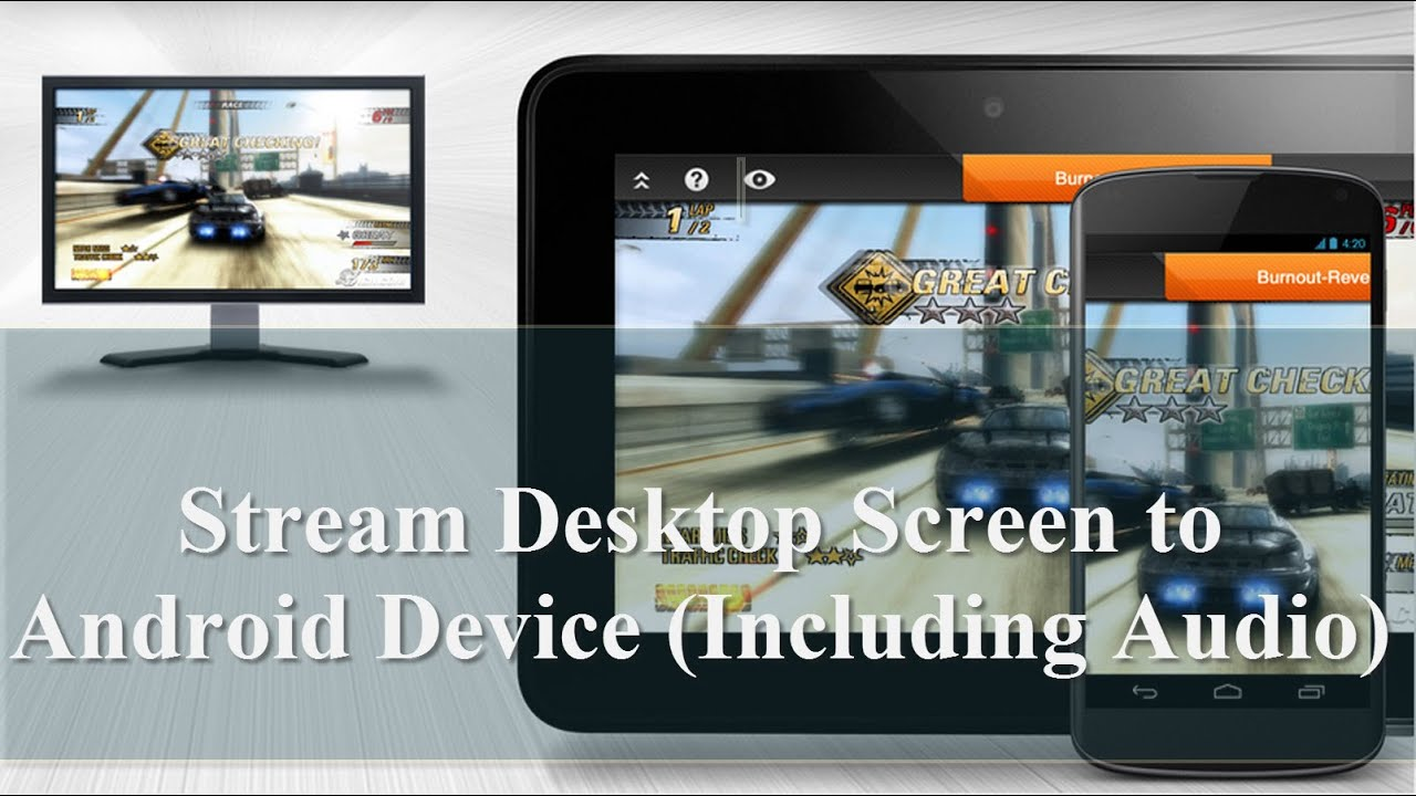 How to Stream Laptop Screen to Android Device (Including Audio)