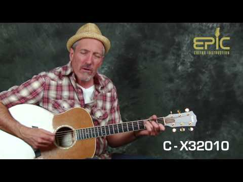 Learn EZ country song Hank Williams Hey Good Lookin guitar lesson chords walking bass lines strums