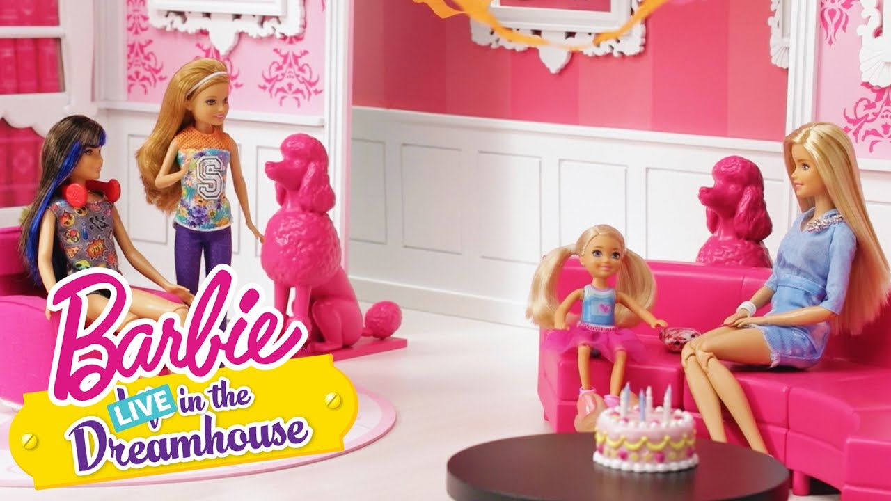 Happy Birthday Chelsea Barbie Live In The Dreamhouse Barbie