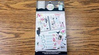 New Happy Planner Farmhouse Sticker book: Flip-through