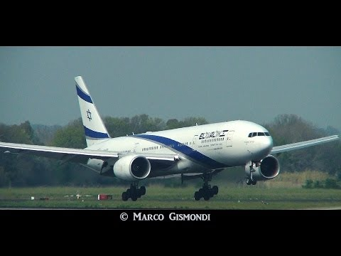 plane spotting at Rome Fiumicino Airport - March 14 2014
