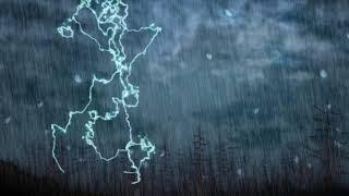 【療愈 · 大自然】打雷聲音 + 暴風雨 bgm~ 讀書 睡眠 冥想 作業用bgm! Thunder storm, Natural Sound, Relaxation, Focus!