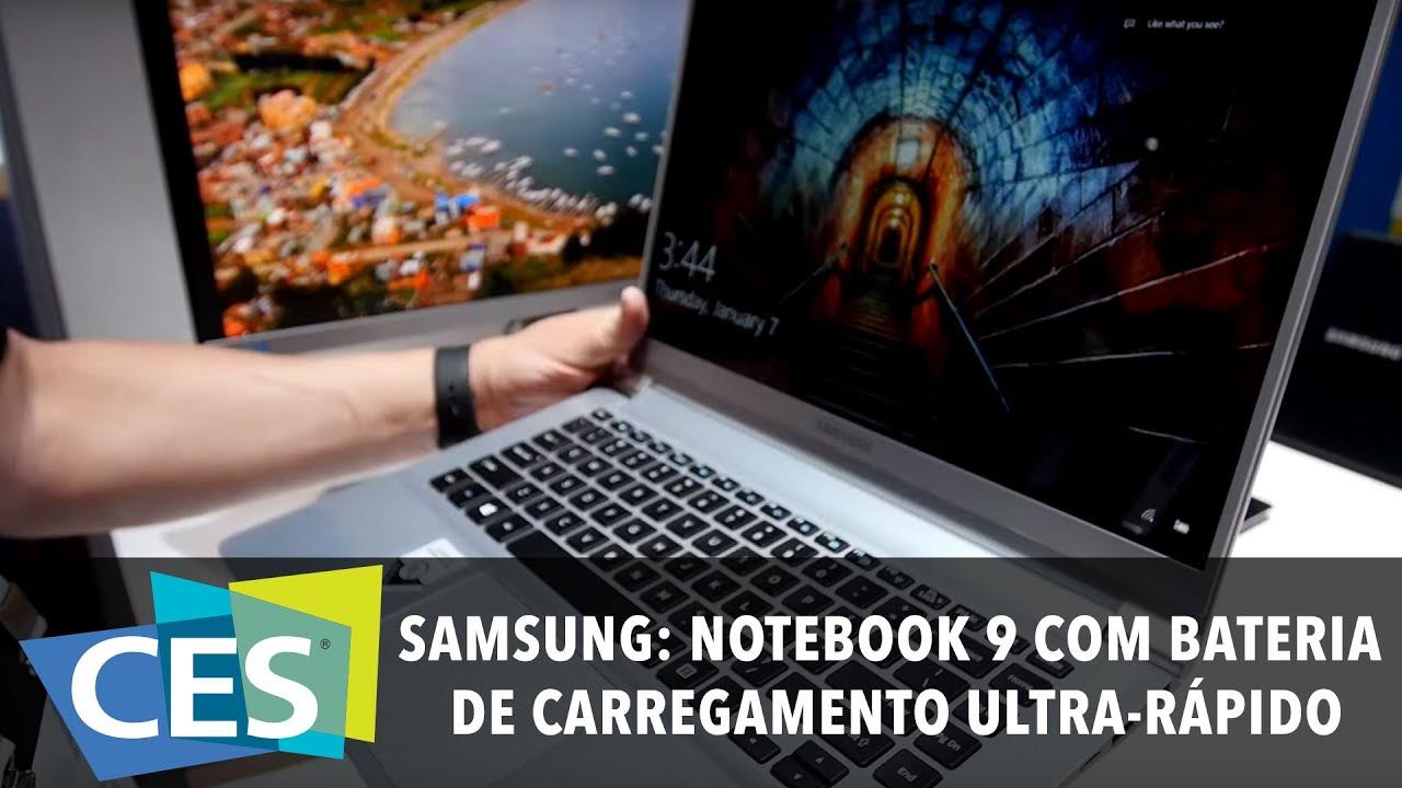 Download SAMSUNG: NOTEBOOK 9 COM BATERIA DE CARREGAMENTO ULTRA-RÁPIDO #CES2016