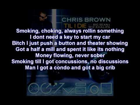 Chris Brown Till I Die Bass Boosted Lyrics On Screen