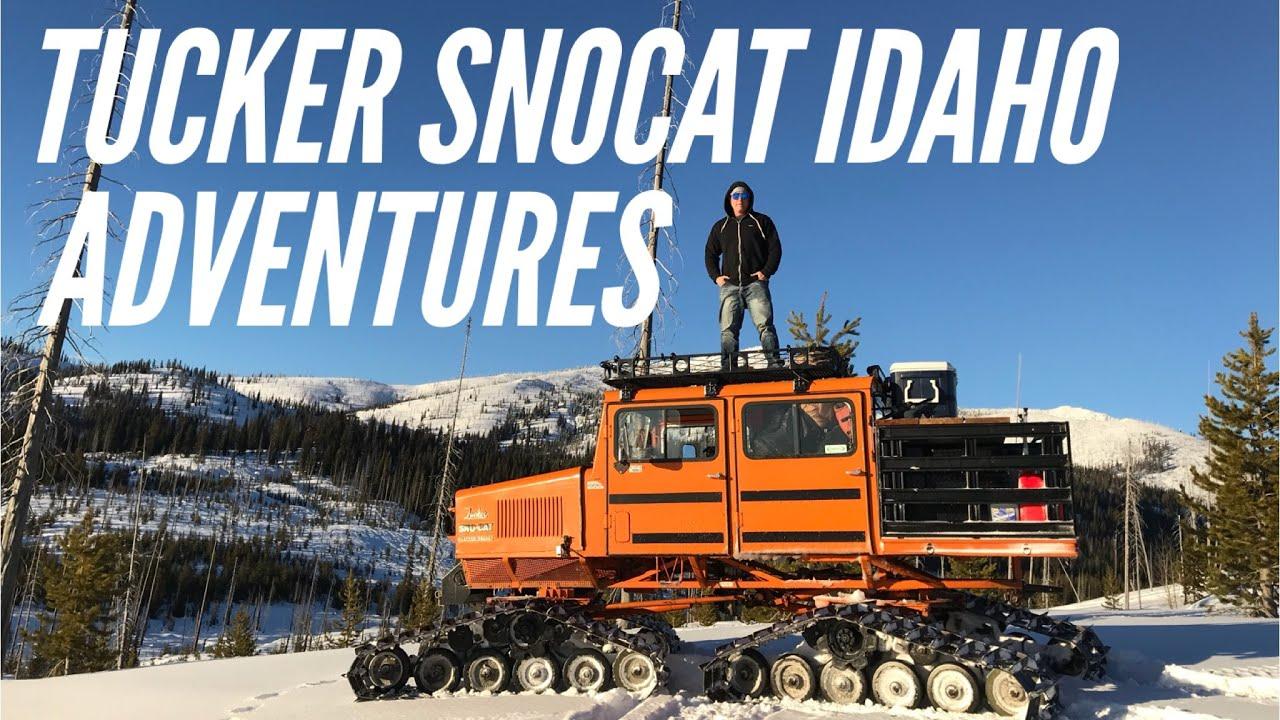 Tucker Snocat IDAHO ADVENTURES 2018 - scenic views in a surreal wonderland