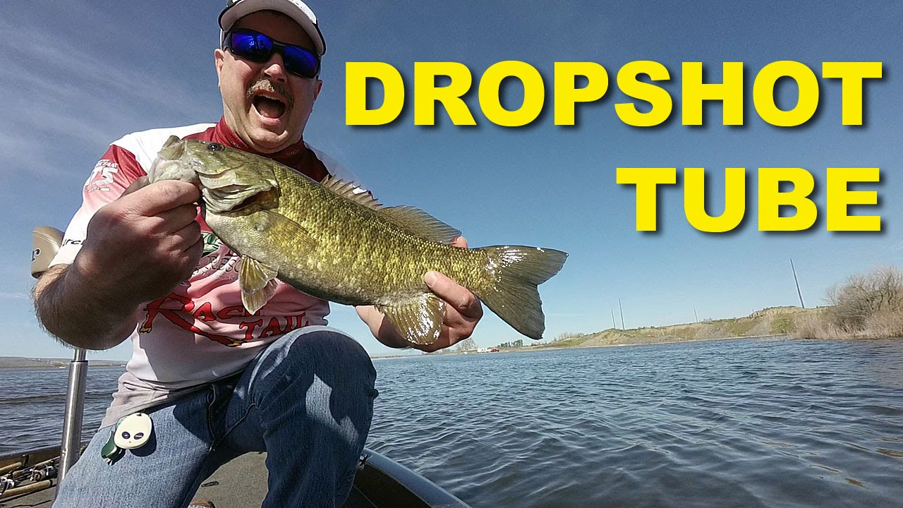 Dropshot tube how to fish bass fishing youtube for Youtube bass fishing