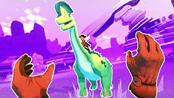 CAPTURING MASSIVE DINOSAURS in Dino Frontier VR!