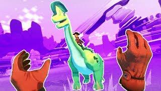 CAPTURING MASSIVE DINOSAURS in Dino Frontier VR!