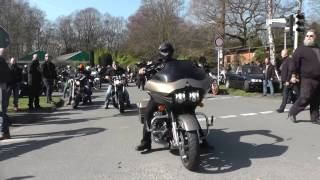 Abschied von Jaden - Biker vereint