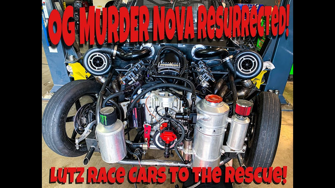 OG Murder Nova Is Resurrected at Lutz Race Cars! The 540 IS ALIVE!!!