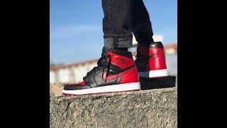fd607ed67 ดาวน์โหลดเพลง Bred Air Jordan 1 Custom (full Timelapse + On Feet ...