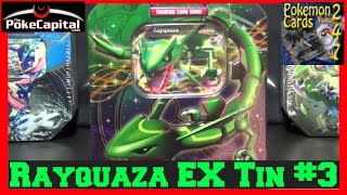 Pokemon Rayquaza EX Best of Collector's Promo Tin & Pack Opening #3