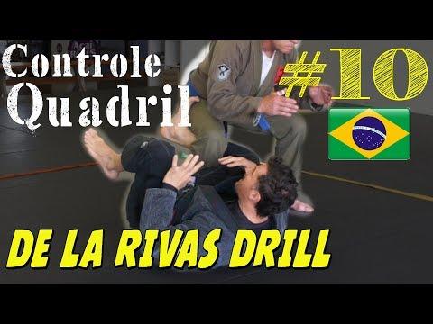 Se torne um Mestre do Gancho De La Riva - Drill de Forca e Mobilidade