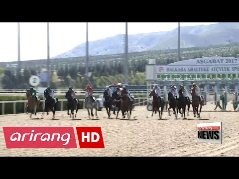 """Turkmenistan celebrates """"The Day of the Horse"""""""