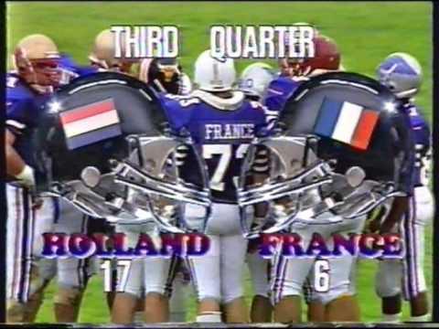 1991 Holland- France, American Football European Championship