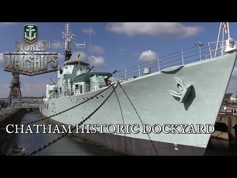 World of Warships Press Event at Chatham Historic Dockyard
