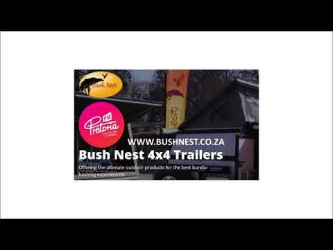 Bush Nest 4X4 op Pretoria FM Besigheidsgolwe radio insetsel op 17 Oktober 2017