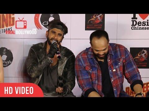 Ranveer Singh Full Speech    Funny   Ranveer Ching Returns Launch