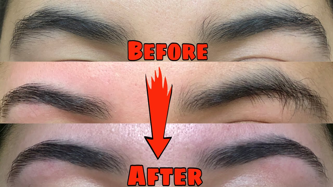 How To Do Your Own Eyebrows At Home (Eyebrow Threading ...