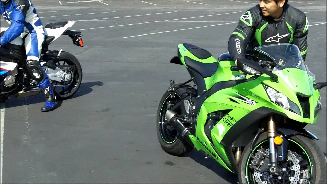 Kawasaki Ninja ZX10R vs BMW S1000RR - Zero To 60 Times