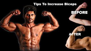 Simple Tips To Increase Biceps In Telugu For Beginners || Fitness Tips   Venkat Fitness