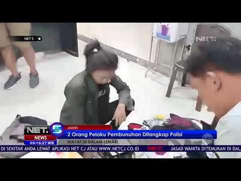 Polisi Tangkap 2 Pelaku Pembunuhan Wanita Yang Ditemukan DIdalam Lemari Kamar Kost   NET5 Mp3