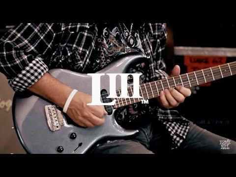 Steve Lukather demos his Ernie Ball Music Man LUKE III HSS Electric Guitar