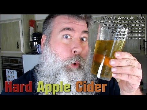 How To Make HARD APPLE CIDER - Day - 16,833