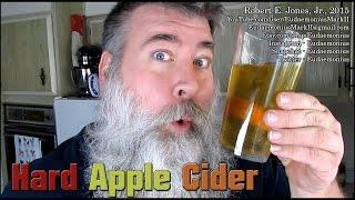 How To Make HARD APPLE CIDER - Day - 16,833