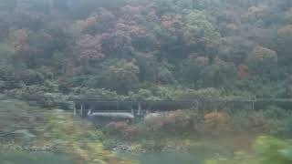 JR東日本 磐越西線GV-E400系(快速あがの) 五十島(通過)→咲花