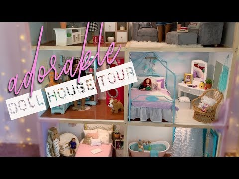 🧸Adorable American Girl DOLL HOUSE TOUR!
