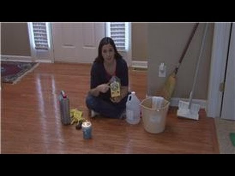 Housekeeping Tips Removing Wax From Wood Floors Youtube